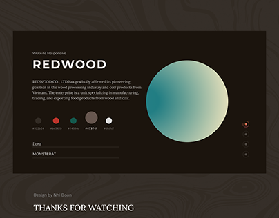 RED WOOD - Responsive Web Design