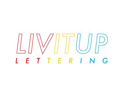 LivItUpLettering Logotype Refresh | 2020