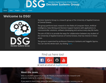 Decision Systems Group Website