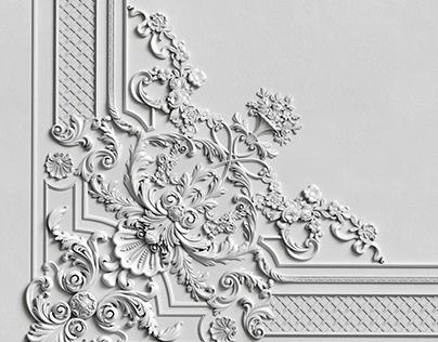 Гипсовая лепнина Аврора (Краснодар) Декор Д118