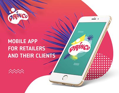 Drinco - mobile app