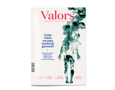 Illustrations for covers of Valors magazine