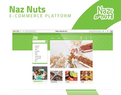 NazNuts E-Commerce Platform