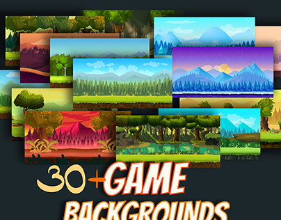 Game Backgrounds Pack