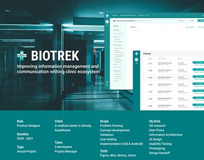 BIOTREK - medical CRM