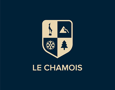 Identity for wool clothing brand Le Chamois