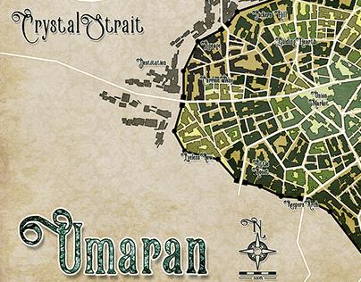 Umaran Barrier Wall City