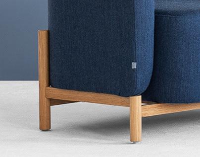 Polar Sofa for Fameg