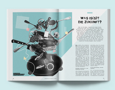 Zeitmaschine Magazin / Editorial Design