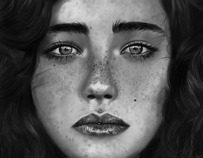 Ilustración realista Nikola Selezinko