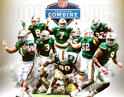 Miami Hurricanes Athletics Social Graphic Dump