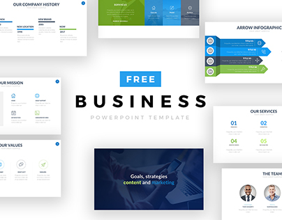 50 Best Free Powerpoint Templates On Behance