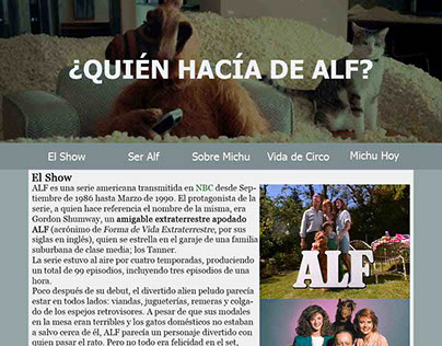 Alf Website