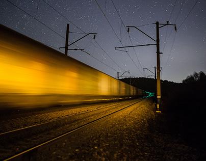 Ночные поезда, night trains