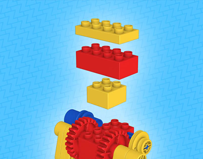 3D system for LEGO building instructions