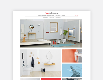 Product Design Company website
