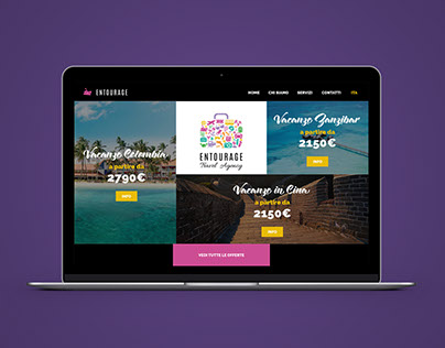Web Site Entourage Viaggi