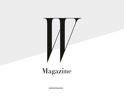 W Magazine Theme Launch