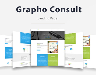 Grapho Consult - Landing Page