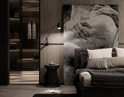 Art Knows No boundaries | Modern Bedroom