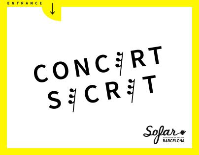 Concert Secret, Sofar Barcelona