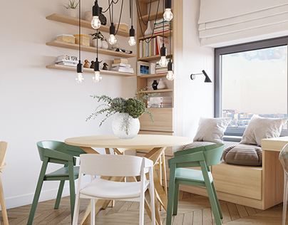 Cozy apartment for young women