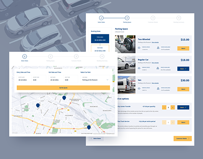 Car Park Booking System for WordPress
