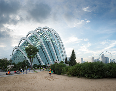 Cloud Forest & Flower Dome, Singapore