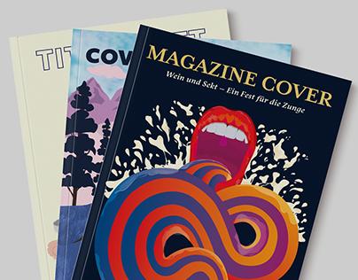 Magazin Cover Illustrationen