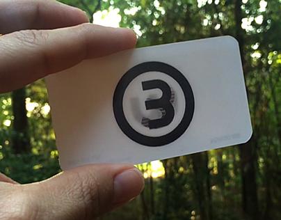 Bw design lenticular business card on behance colourmoves