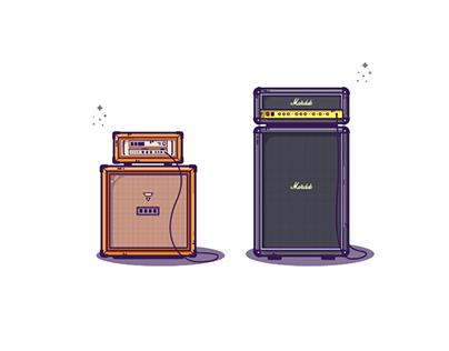 Illustration_ 05 : Music Instrument Illustrations