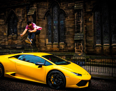 Jump a Ferrari