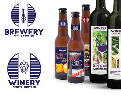 White Shutter Brewery Design