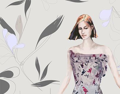 Fashion illustration and Fashion design