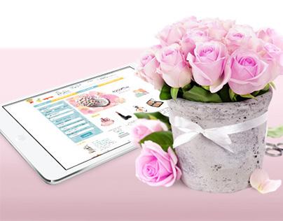 Cosmetics and perfumes online store. www.8marta.dn.ua