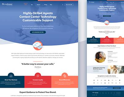 LiveAnswer Website Concept