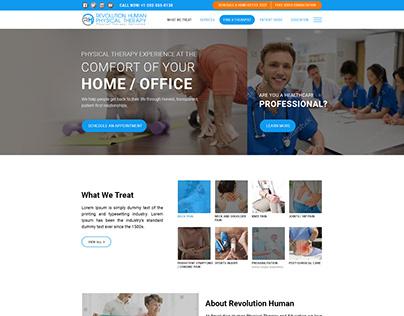 Health Web Template