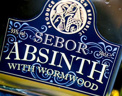 Sebor Absinth Rebrand