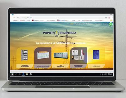 Página Web Power Ingeniería