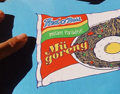 Indomii Instant Noodles