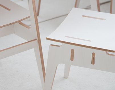 LANGSKIP & LEIDANGSKIP /flat pack furniture