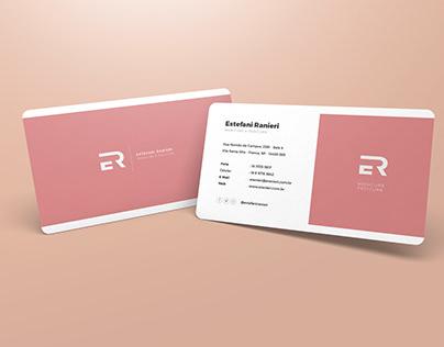 Estefani Ranieri - cartão de visita