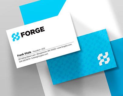 Forge – Logo, Identity Program, Print