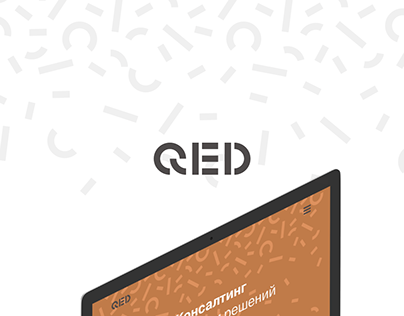 QED | Landing page