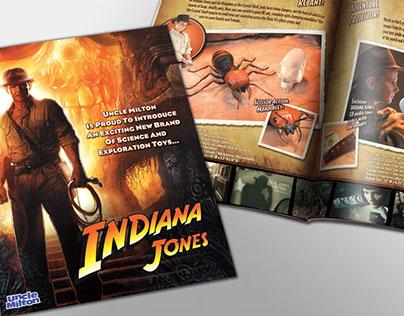 Indiana Jones - Toy Sales Brochure
