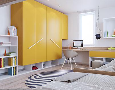 2 Kids bedroom design