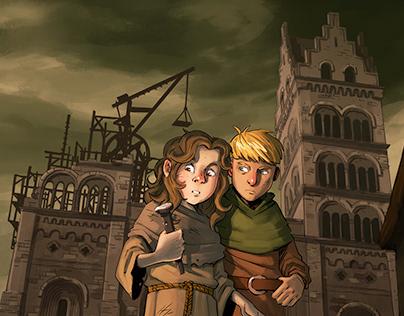 Illustrations for children book - Vide
