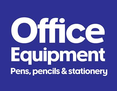 Officeworks Custom Typeface