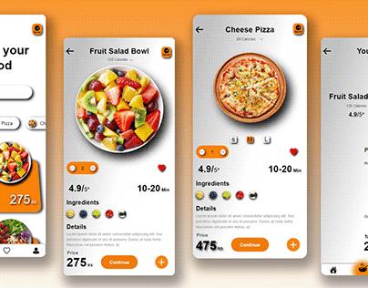 Food order App concept