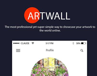ArtWall- Hybrid Mobile APP Design & Development